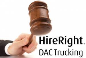 HireRight and trucking DAC reports sued