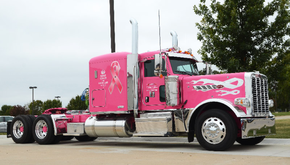 This Special Truck Brings Cancer Awareness Everywhere It Goes