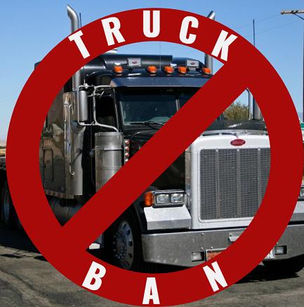 Trial Truck Ban Set For Savannah