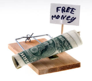 No such thing as free money