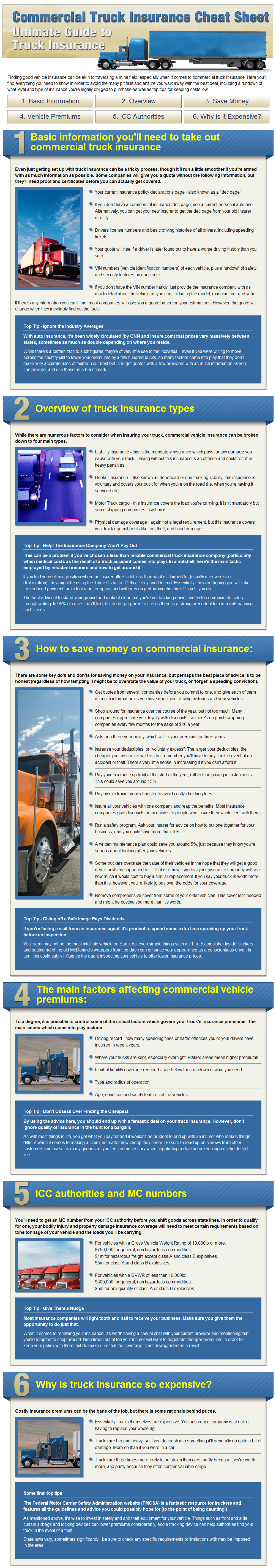 Insurance Quote Guide for Commercial Trucks