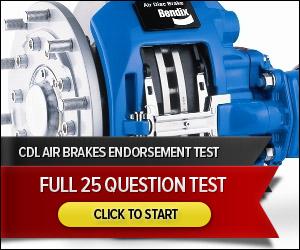 CDL Air Brakes - Full 50 Question Quiz