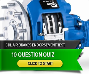 CDL Air Brakes - 10 Question Quiz