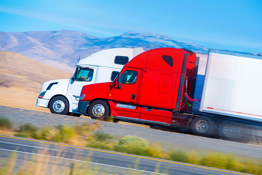 Give Me Liberty: Truckers Protest 'Unconstitutional' LA Port Rule