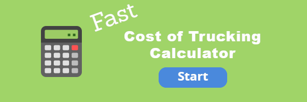 Quickly calculate cost per mile of a commercial truck