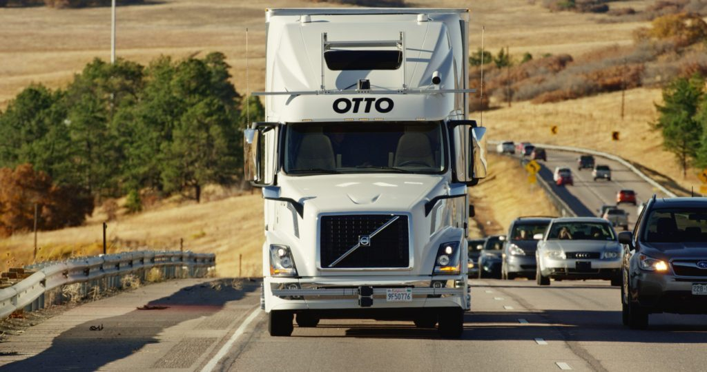 Self-Driving Trucks: The Last Co-Founder Of Otto Has Left Uber