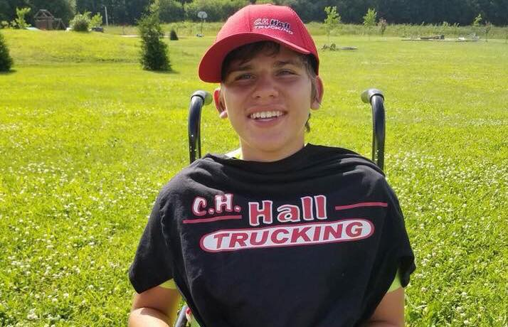 182 Truckers Surprise Boy With Disabilities On His 16th Birthday