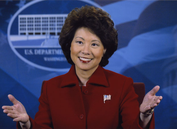 Watchdog Investigating DOT Sec. Chao Is Removed From Post