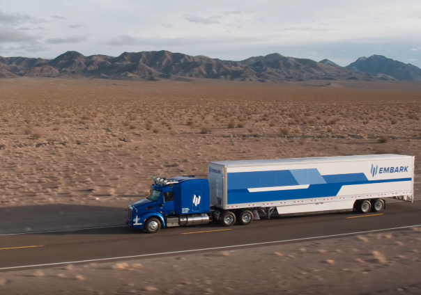 Two 21-Year-Olds Unveil New Self-Driving Truck