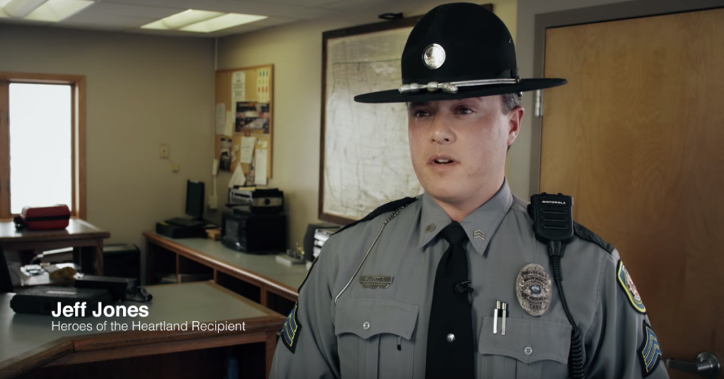 This Trucker's Life Was Saved By The Officer Who Just Placed Him Out-Of-Service