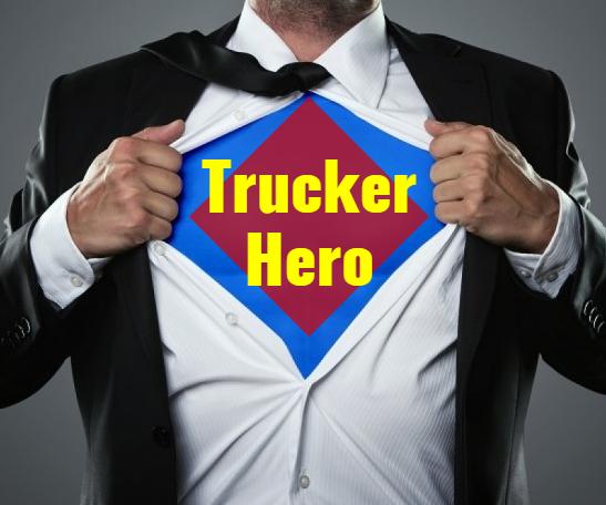 Hero Trucker Saves Diapered Child Who Ran Across Highway TWICE