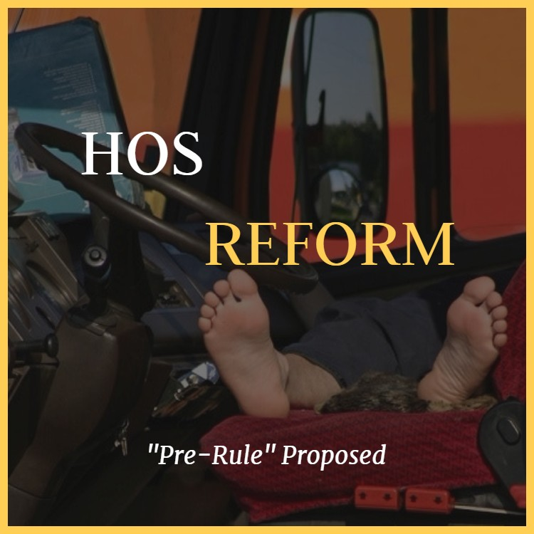 "FMCSA ""Pre-Rule"" Could Change Hours Of Service Regs For Truckers"
