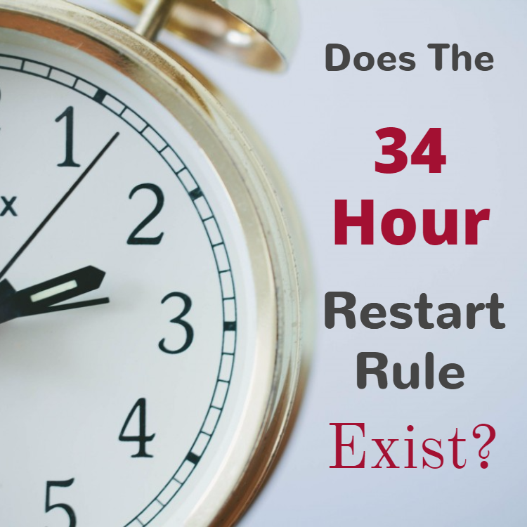 34 hour restart rule