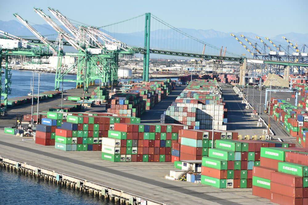 U.S. Trade Deficit Grows Despite Container Port Logjams