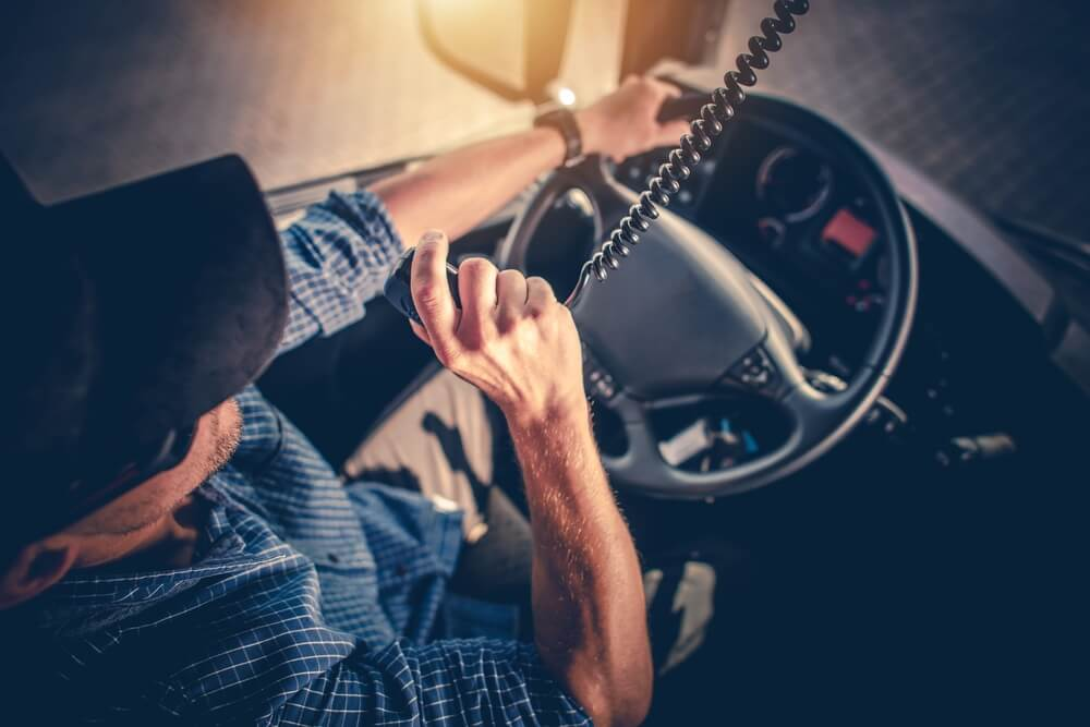 Driver on CB Radio