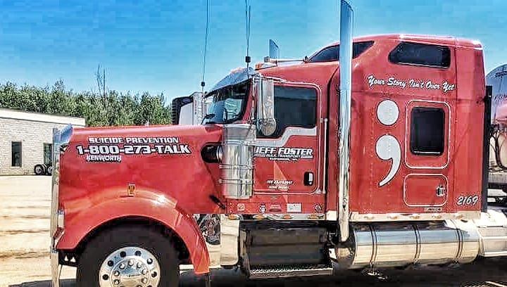 Trucker Group Helps Fellow Drivers Dealing With Depression