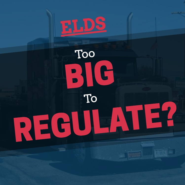 ELDs: Are Some Carriers Too Big To Regulate?