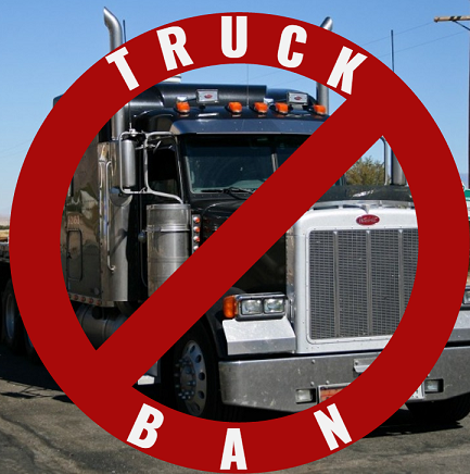 Truckers In This County Can't Park Outside Their Own Homes Anymore