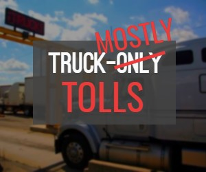 CT 'Truck-Mostly Toll' Will Cost Trucks 7 Times More Than Cars