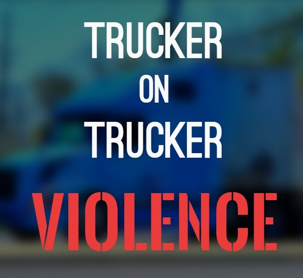 Suspect At Large: Two Truckers Stabbed Multiple Times By Fellow Trucker